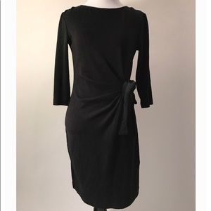 Taylor petite black dress